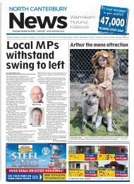 North Canterbury News: October 22, 2020