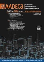 AADECA Revista 16 | Mayo-agosto 2020