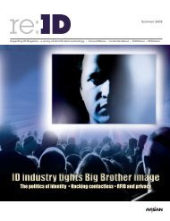 ID industry fights Big Brother image - re:ID