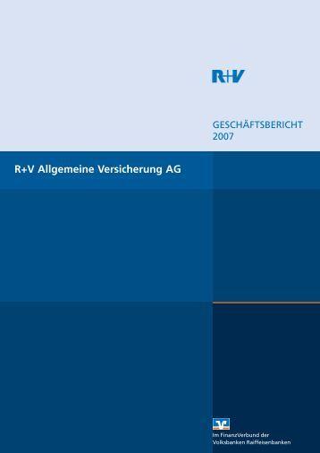 Vorstände der R+V Allgemeine Versicherung AG - R+V Versicherung