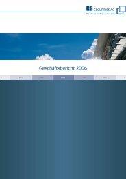 Geschäftsbericht 2006 - bankhaus main ag