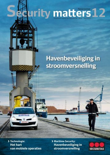Havenbeveiliging in stroomversnelling ›Technologie - Securitas
