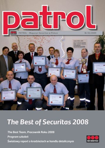 The Best of Securitas 2008