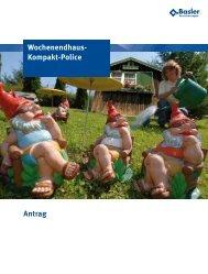 Antrag Wochenendhaus- Kompakt-Police - Malauschek ...