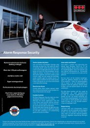 Alarm Response Security