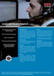 Care Center Security Helpdesk - Zeker met Securitas