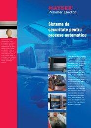 Sisteme de securitate pentru procese automatice Polymer Electric