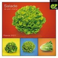 Brochure salade de plein champ 2021