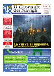Giornale dei Navigli n. 37 - 23 ottobre 2020