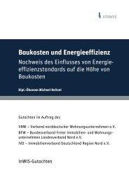 Gutachten zu Baukosten und Energieeffizienz