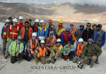 NMT SEG Student Chapter Field Trip Report