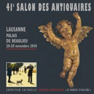 Catalogue 2010 - Syndicat romand des Antiquaires