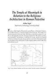The Temple at Musmiyeh in Relation to the Religious Architecture in ...