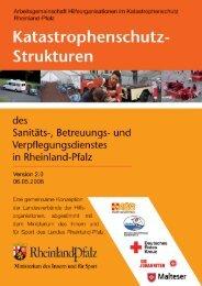 Katastrophenschutz-Strukturen des Sanitäts-, Betreuungs - beim ...