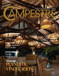 Revista Club Campestre de Pereira Octubre