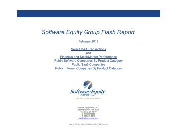 SEG Index - Monthly Report January V3 - Sandhill