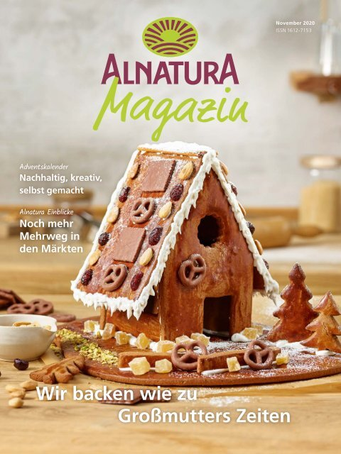 Alnatura Magazin November 2020