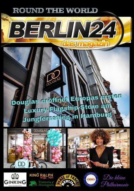 Douglas eröffnet Europas ersten Luxury-Flagship-Store am Jungfernstieg in Hamburg
