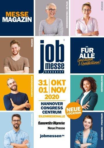 Der MesseGuide zur 13. jobmesse hannover