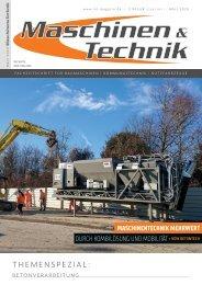 Maschinen & Technik | März 2020