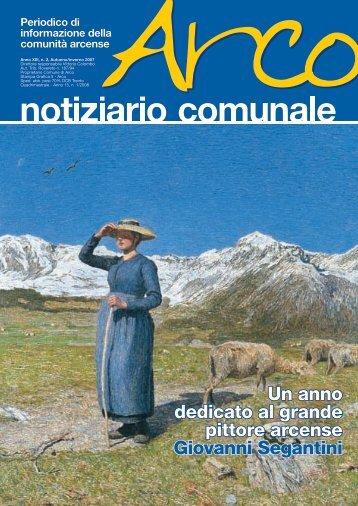 Un anno dedicato al grande pittore arcense Giovanni Segantini