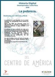 Historia Costa Rica-La pobreza