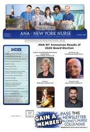 New York Nurse - October 2020