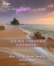 October 25, 2020 Bulletin - Reformation Sunday