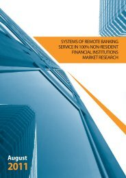 Systems of remote banking service - CNews