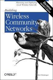 Building Wireless Community Networks - O'Reilly
