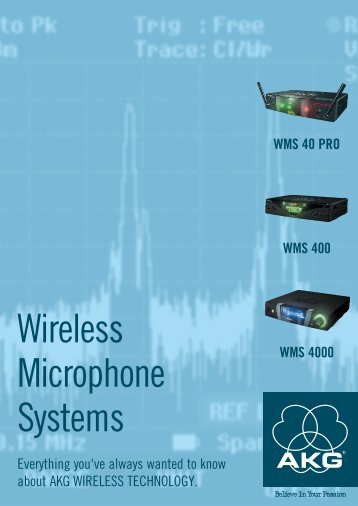 Wireless Microphone Systems - AKG