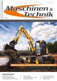 Maschinen & Technik | September 2020