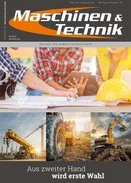 Maschinen & Technik | Beilage für Gebrauchtmaschinen