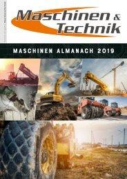 Maschinen Almanach 2019
