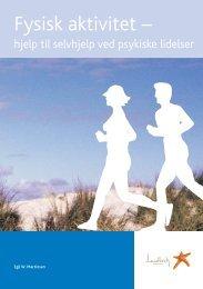 Fysisk aktivitet - hjelp til selvhjelp ved psykiske lidelser