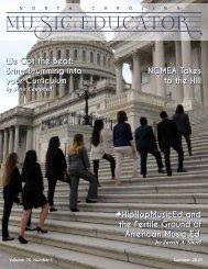 NC Music Educator Summer 2019