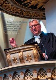 Amtseinführung Bischof Bernhard Felmberg (Predigt)