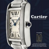 Cartier Certified Pre-Owned Watches