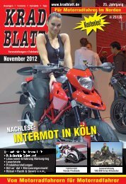 INTERMOT IN KÖLN - Kradblatt