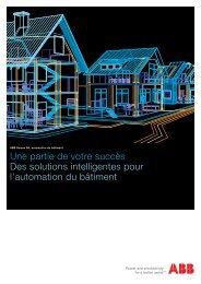 Automation du bâtiment Brochure (PDF) - ABB Schweiz AG ...