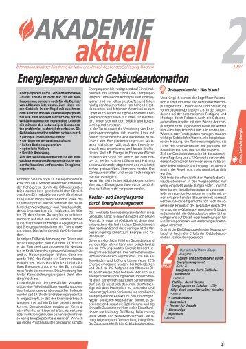 21997 Energiesparen durch Gebäudeautomation - STENUM GmbH