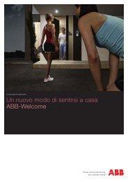Un nuovo modo di sentirsi a casa ABB-Welcome