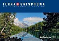 Mediadaten 2010 - Terra Grischuna