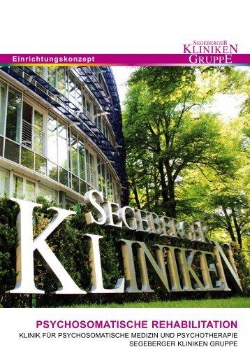 PsychosomatischE REhabilitation - Segeberger Kliniken GmbH