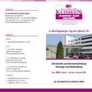 4. Bad Segeberger Tag der offenen Tür Darmkrebs und ...