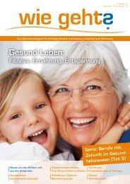 Gesund Leben: - Magazin für Gesundheit Schleswig-Holstein