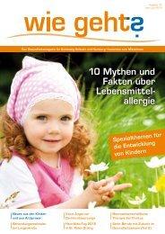 10 Mythen und Fakten über Lebensmittel- allergie - Magazin für ...