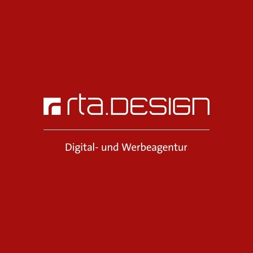 rta.design GmbH Imagebroschüre 2020