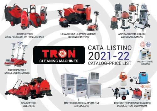 Cata-listino prezzi-Price list catalog TRON srl 20 21