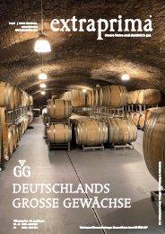 Extraprima Magazin Große Gewächse Deutschland 2020